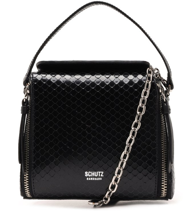 Crossbody Helena Bright Snake Black | Schutz