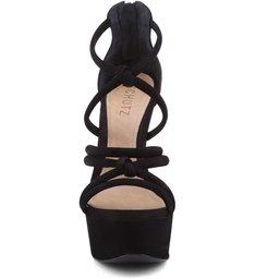 Sandália Knotted Black