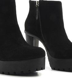 Ankle Boot Tratorada Black