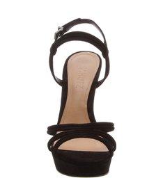 Sandália Salto Nobuck Black