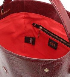 Handle Bag Buckle Cabernet