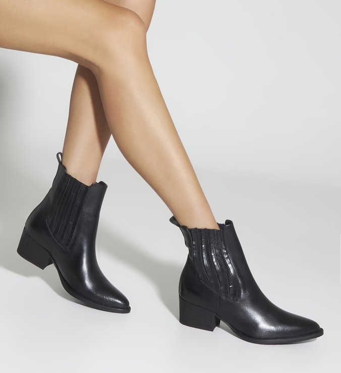 Chelsea Boot New Minimal Black