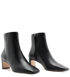 Bota New Minimal Mid Heel Black