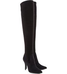 Maxi Over The Knee High Heels Boots Black