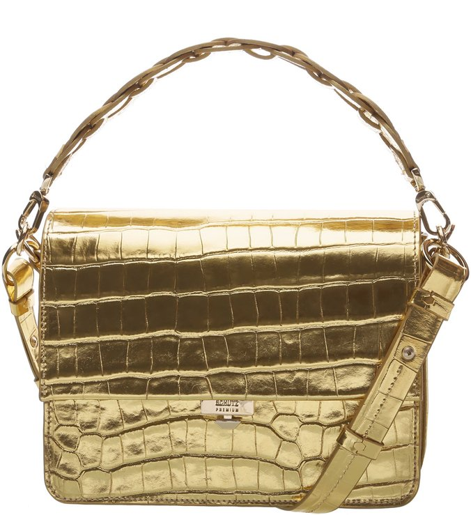 Handbag Aylah Golden Croco