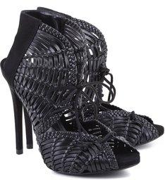 Sandália Textures Black