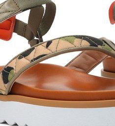 Sporty Sandal Camuflada Green