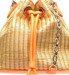 Bucket Bag Drop Neon Orange