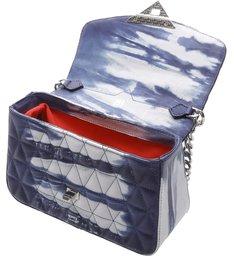 Mini Crossbody Bag Matelassê 944 Tie- Dye Blue