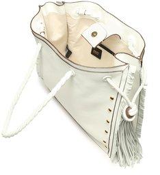 Shopping Bag Drop White