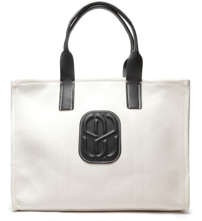 Shopping Bag The Weekender Cru/Black