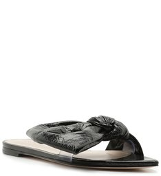 SLIDE FLAT LUCY TRANSPARENT BLACK