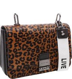 Mini Crossbody Live Love Leopard Print
