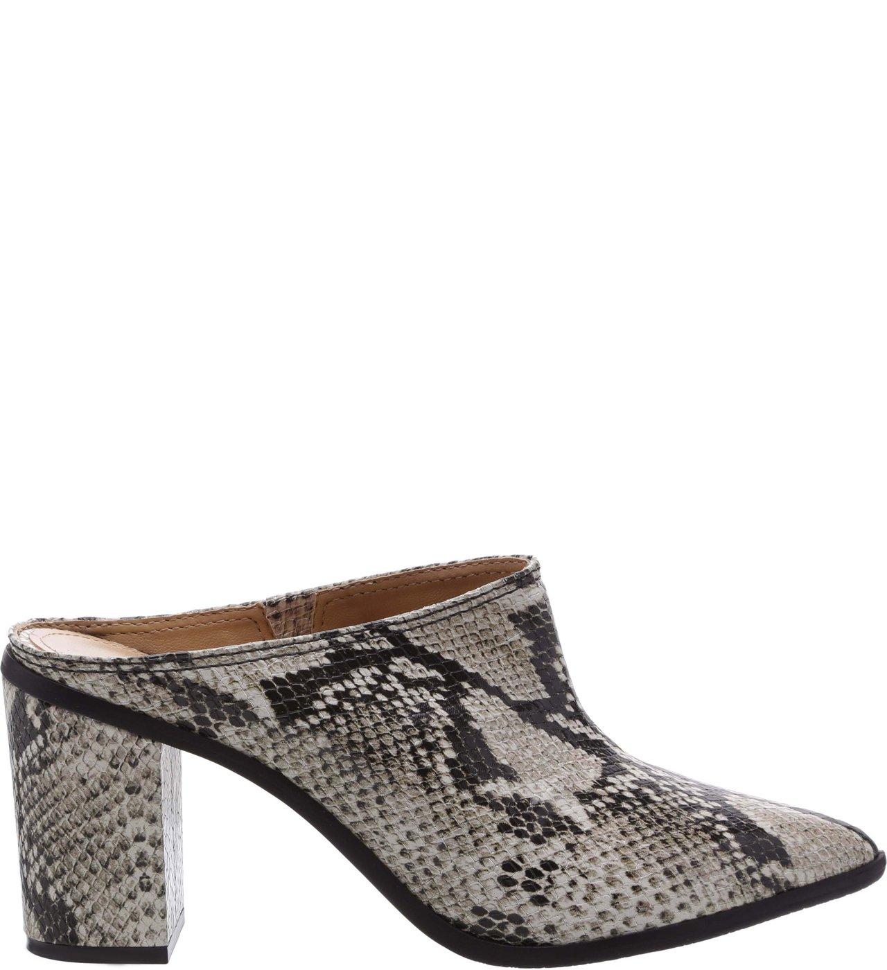 Mule Block Heel Python | Schutz