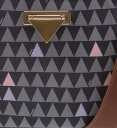 Crossbody Didi Multistrap Triangle Black