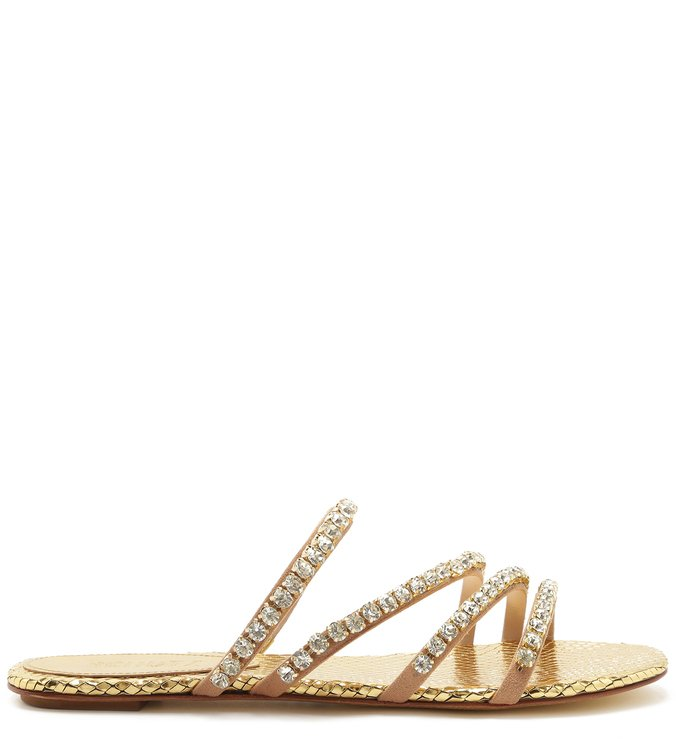 Slide Glam Stones Metallic | Schutz