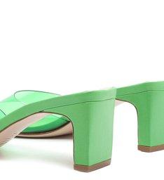 Mule Vinil Pop Green