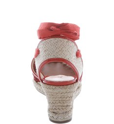 Espadrille Trama Summer Red