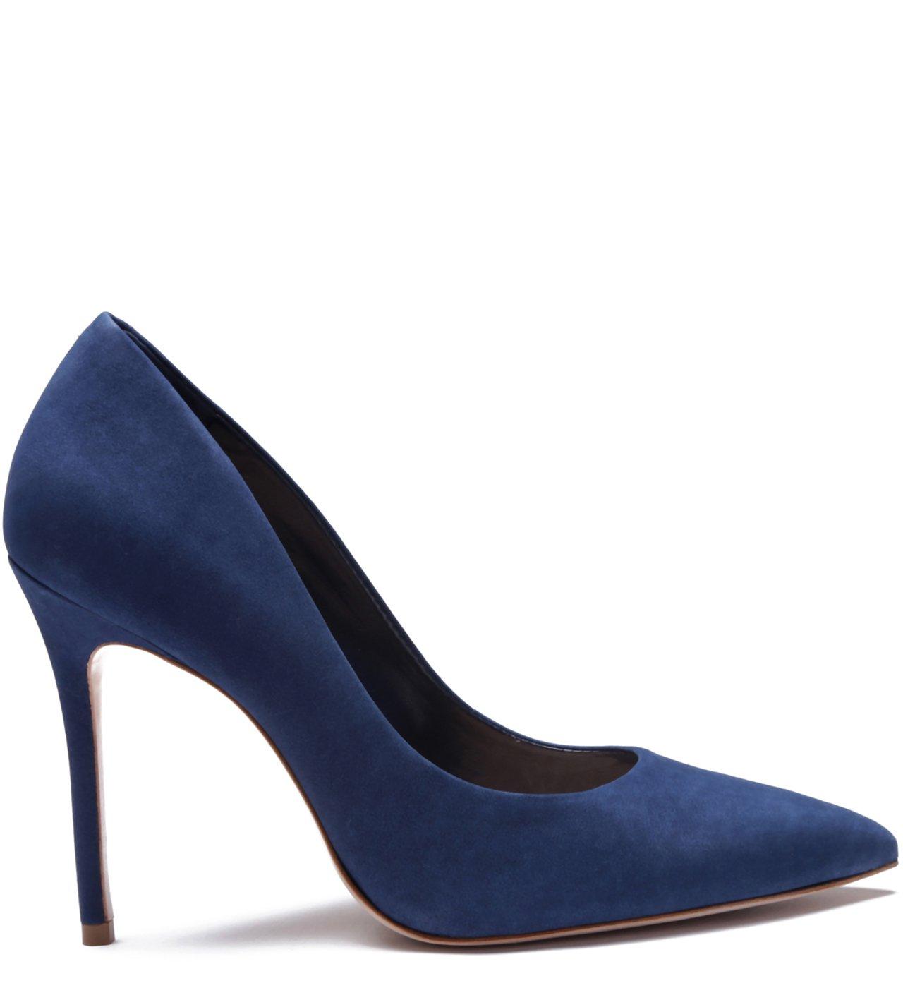 Scarpin Classic Nobuck Blue | Schutz