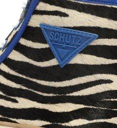 Tênis Smash Cano Alto Zebra