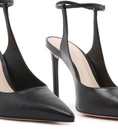 Scarpin Slingback Anklet Black