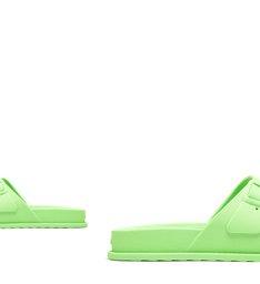 Slide Buckles Full Plastic Green