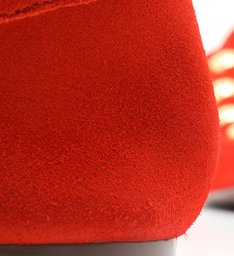 Loafer MaxiStuds Suede Red