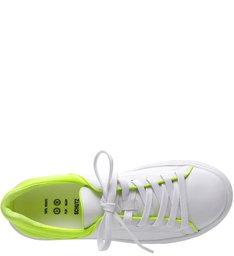 Tênis S-OXY White and Neon Yellow
