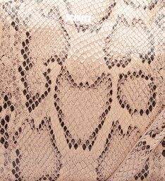 Crossbody Lili Python Rose