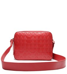 Crossbody Lilly Triangle Red