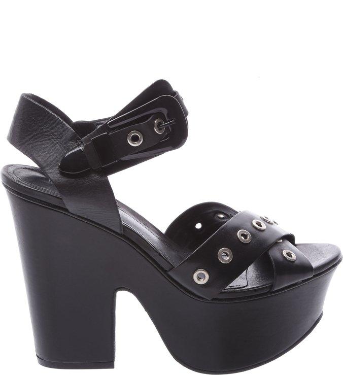 Sandália Salto Bloco Black