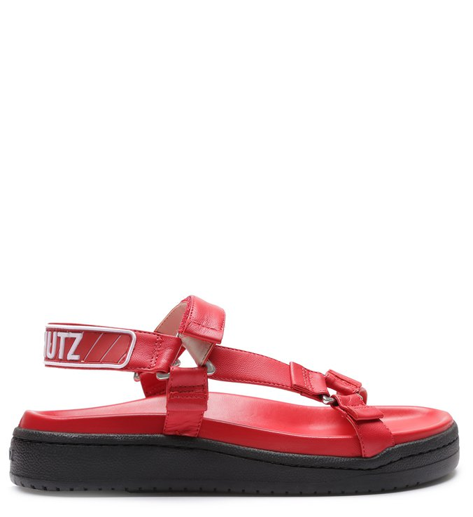 Sporty Sandal Full Color Red