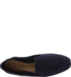 Loafer Suede Deep Blue