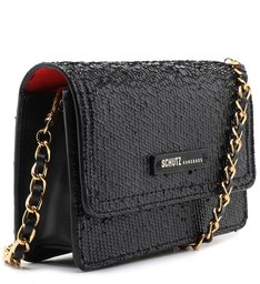 Crossbody Lorena Snake Glam Black