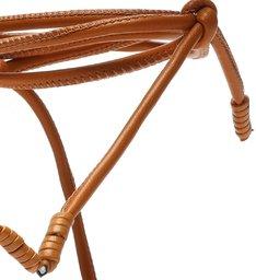 Sandália Micro Block Heel Strings Wood