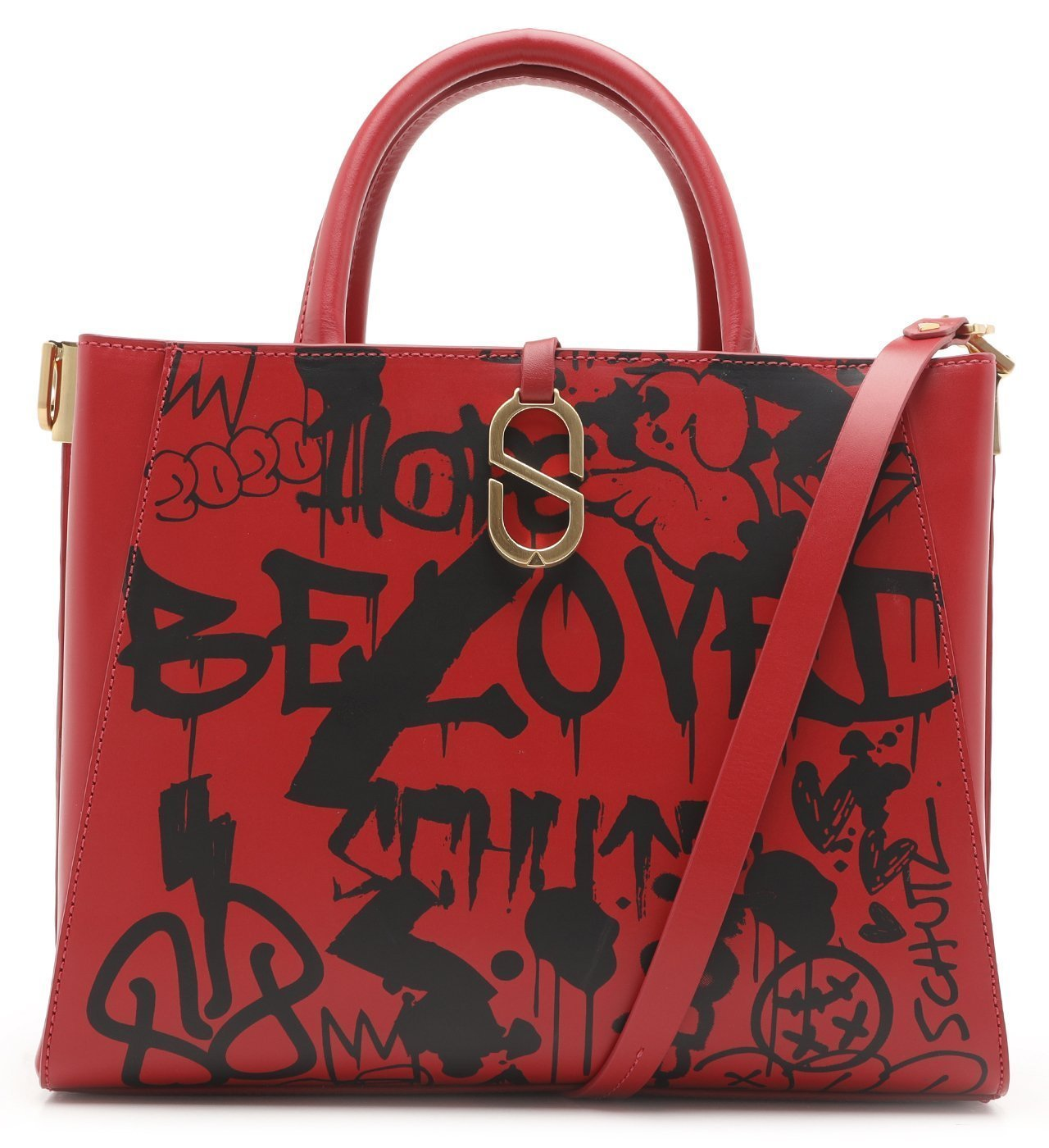Tote A To Z Street Red | Schutz