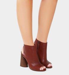 Sandal Boot Red Brown