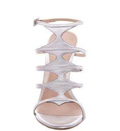 Sandália Skin Glam Stiletto Prata