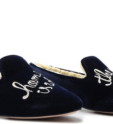 Homewear Loafer Lara Velvet Sailfish