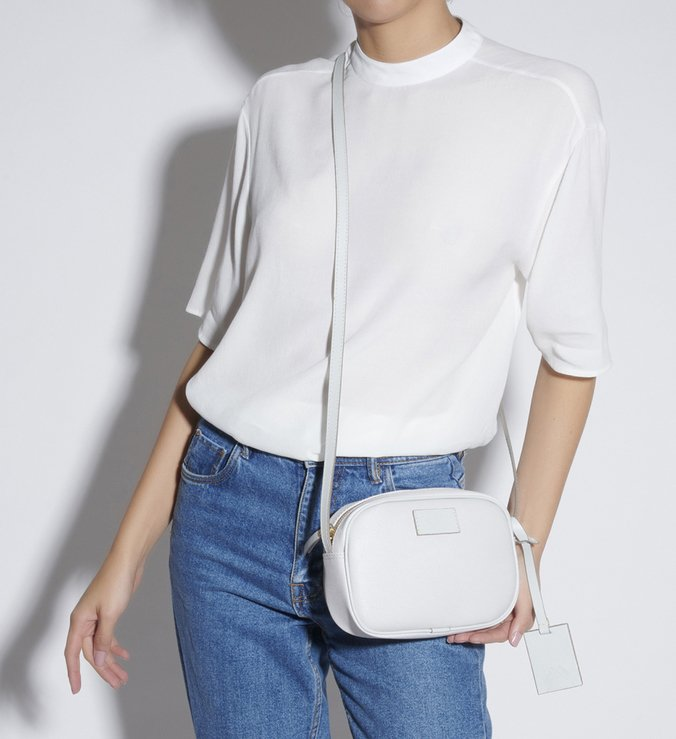 CROSSBODY NEW TRIANGLE FULL COLOR WHITE