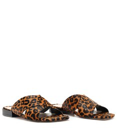 Flat Cross Animal Print