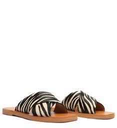 Rasteira de X Slide Zebra