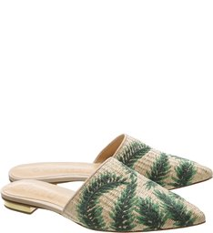 Flat Mule Tropical Natural