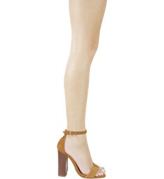 Sandália Gisele Stripe Prata