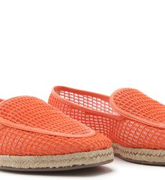 LOAFER TRAMA CORDA ORANGE