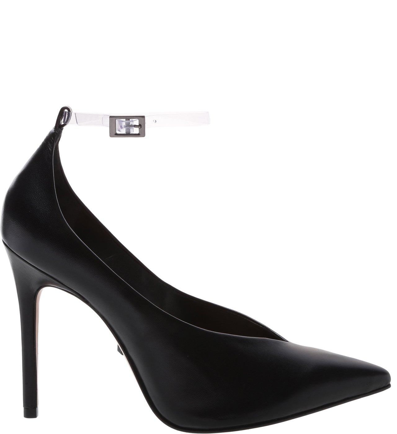 Sapato Scarpin Vinil Preto | Schutz