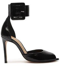 Sapato Scarpin Salto Alto Verniz Preto