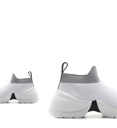 Tênis Knit Bold White