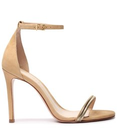 Sandália Minimal Glam Natural