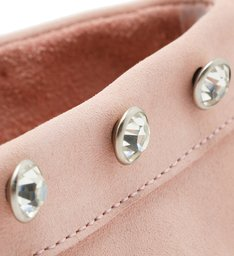 Loafer MaxiStuds Suede Rose